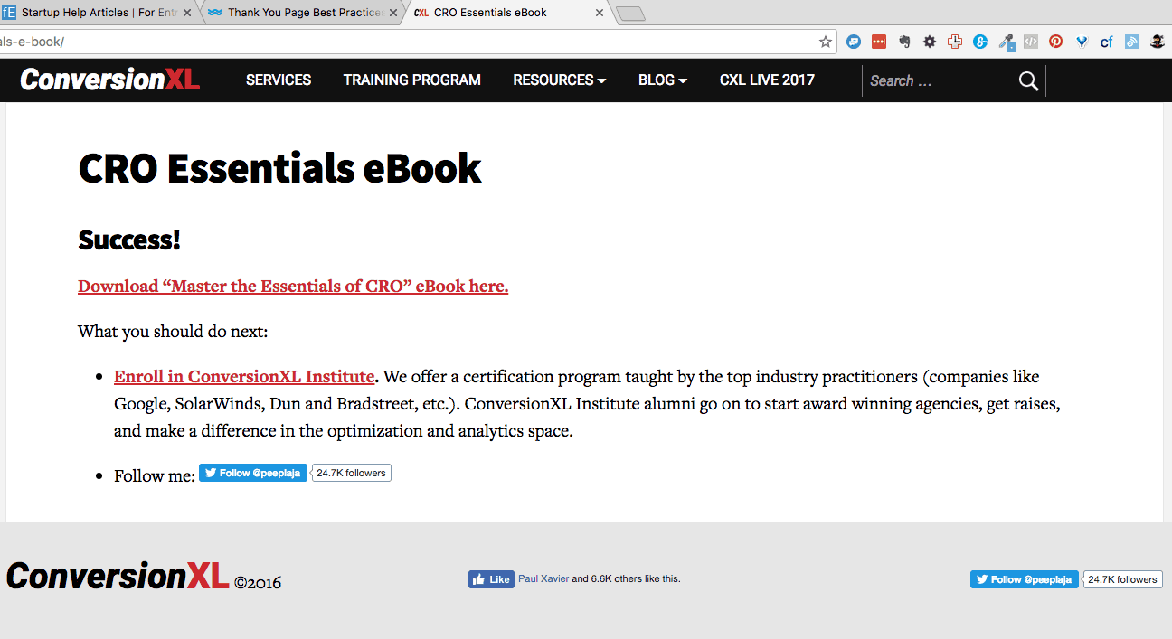 CRO Essentials eBook 1 1