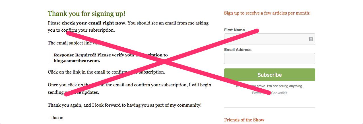 ASmartBear WP Engine Thank you for signing up 1